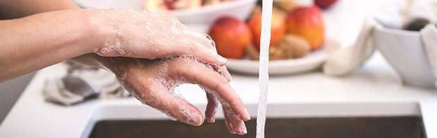 新型コロナ対策「手洗い」
